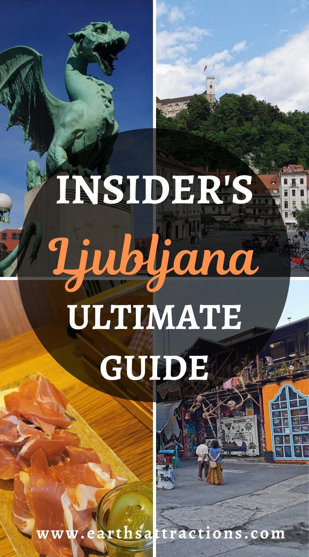 Insider's guide to Ljubljana Slovenia. Discover the best things to do in Ljubljana, including off the beaten path things to do from this Ljubljana guide. Everything you neek to know about Ljubljana is included. #ljubljana #ljubljanatravelguide #ljubljanaguide #slovenia #europetravel #earthsattractions #traveldestinations #trending #traveltips #travel