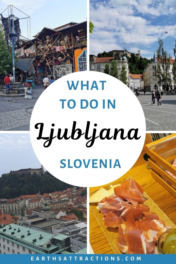 What to do in Ljubljana, Slovenia. Discover the best things to do in Ljubljana - from the Dragon bridge to the Skyscraper, The National Gallery, Metelkova city and more in this Ljubljana travel guide. You'll also find Ljubljana accommodation recommendations, as well as the best places to eat in Ljubljana. #ljubljana #ljubljanatravelguide #ljubljanaguide #slovenia #europetravel #earthsattractions #traveldestinations #trending #traveltips #travel