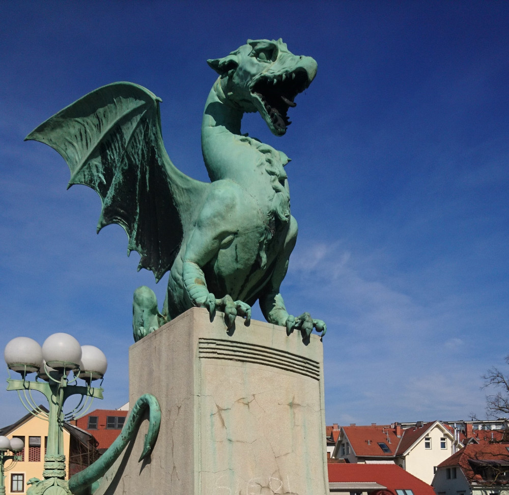 The Dragon bridge is one of the best things to see in Ljubljana. Read this Ljubljana travel guide to discover more amazing attractions in Ljubljana