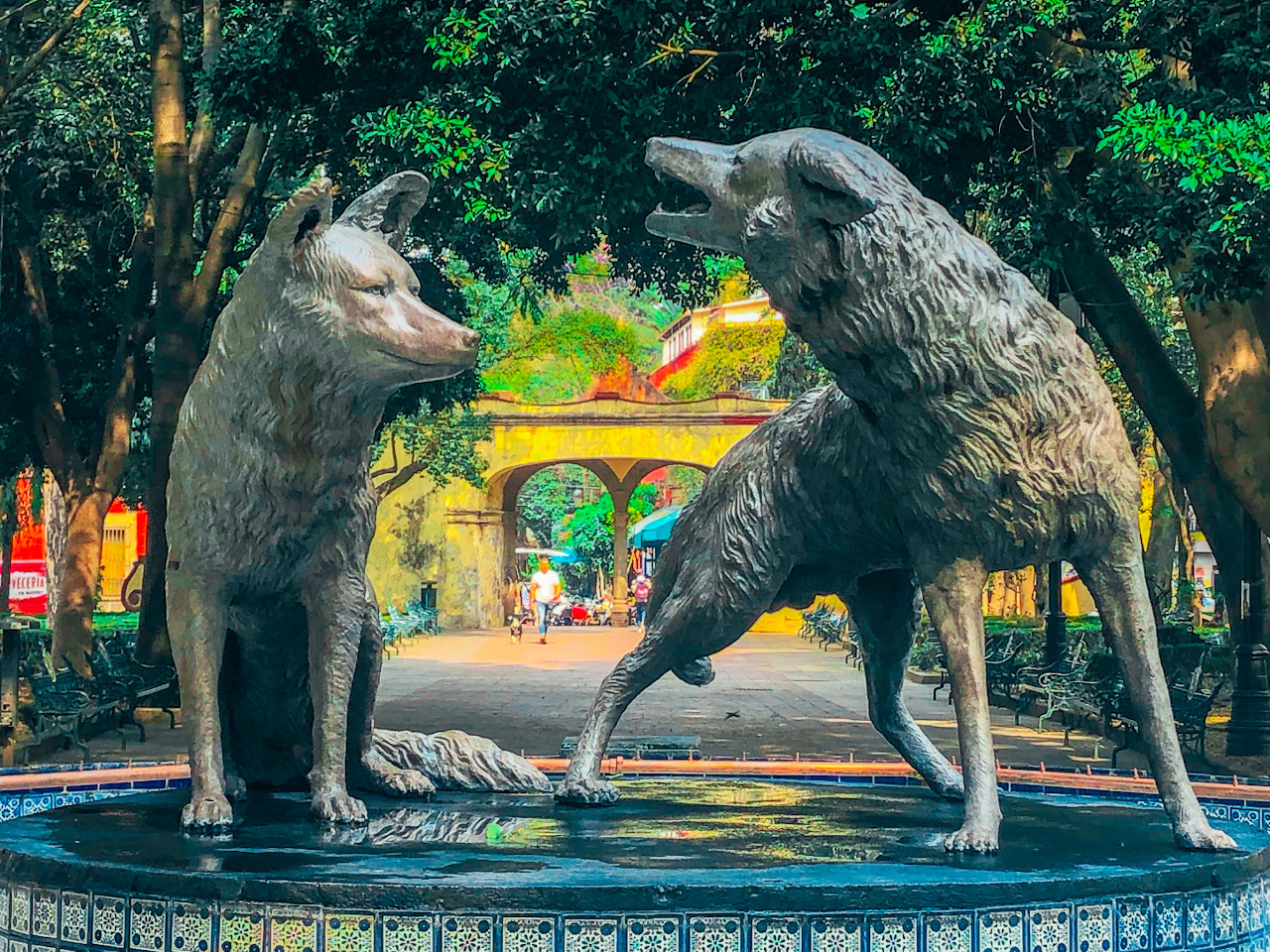 Coyoacan - Coyote Fountain should be on your Mexico City itinerary. Here are the best things to do in Mexico City in 5 days