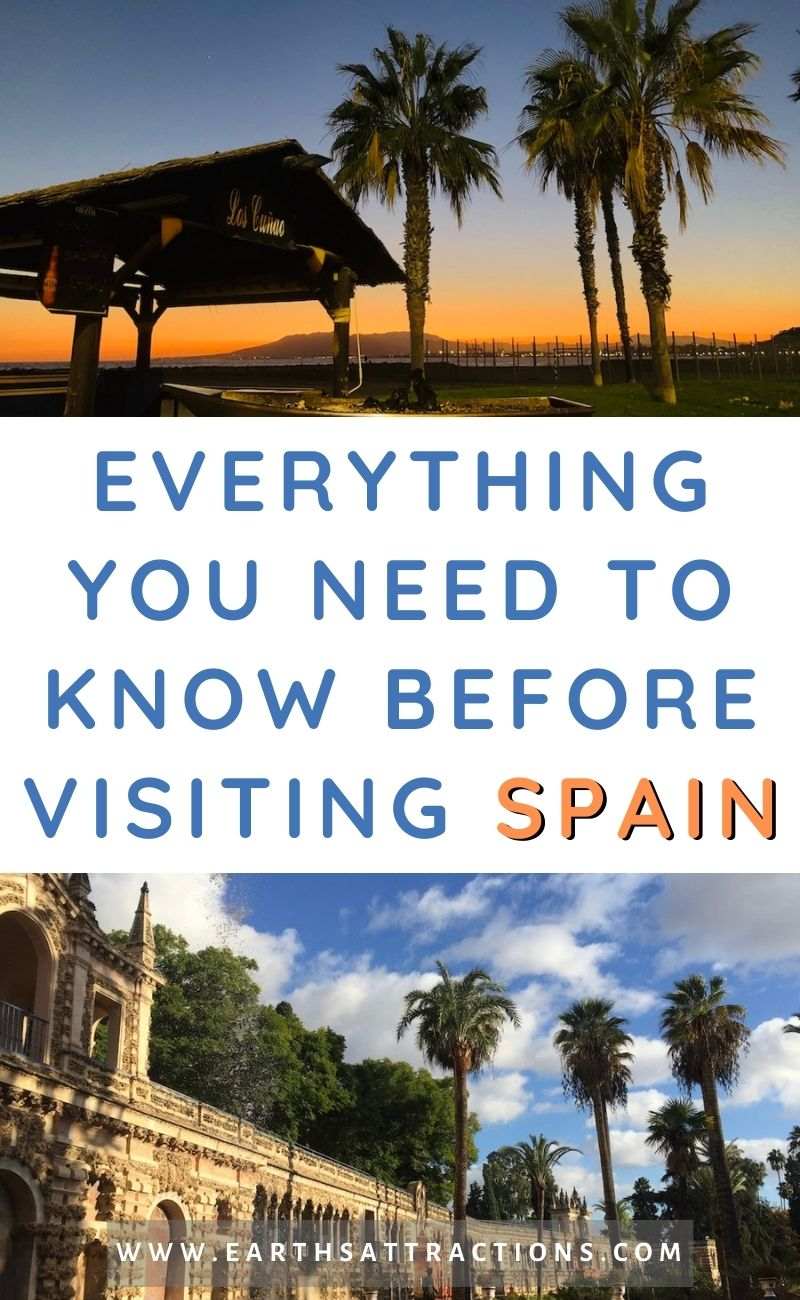 Everything you need to know before visiting Spain. This article is an insider's guide to Spain covering what to eat in Spain - popular Spanish food -, best destinations in Spain, interesting facts about Spain, details about the Spanish life - including the Siesta, and more. Save this pin for later and read the article now! #spain #spaintips #spaintravel #europetravel #earthsattractions #spainfacts #spanishdishes #spanishfood #food #tapas #paella #traveldestinations #visitspain