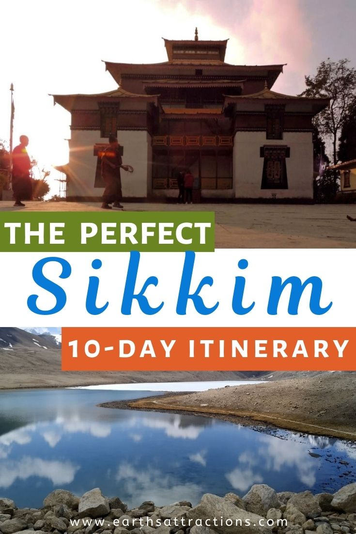 The perfect 10-day Sikkim Itinerary. Discover the best things to do in Sikkim, India in 10 days - from Gangtok to Lachen, Gurudongmar Lake, Yumthang Valley, Zero Point, and more, the best attractions in Sikkim are included. Read this article now and save this pin for later! #indiatravelguide #sikkim #sikkimitinerary #sikkimtravel #sikkimguide #sikkimthingstodo #indiatravel #earthsattractions #asiatravel #travelitinerary