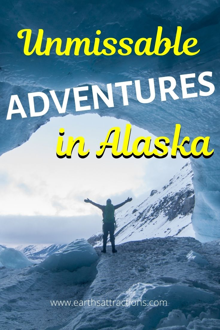 Unmissable adventures in Alaska, USA. The best Alaskan glaciers and fun things to do in Alaska are included in this Alaska article. #alaska #adventure #usa #usartavel #earthsattractions #thingstodo #alaskathingstodo #glacier #glaciers