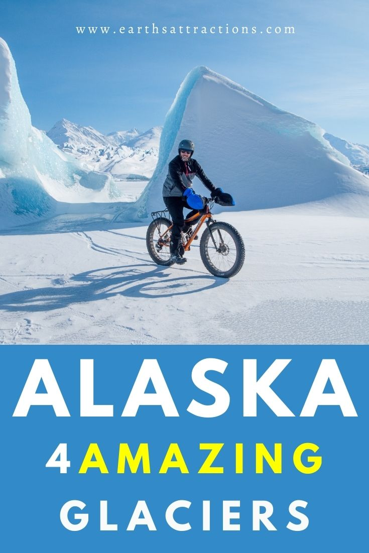 Amazing Alaskan glaciers! Discover the best Alaskan adventures and things to do in Alaska, USA from this article. Read it now and save this pin to your boards. #alaska #adventure #usa #usartavel #earthsattractions #thingstodo #alaskathingstodo #glacier #glaciers