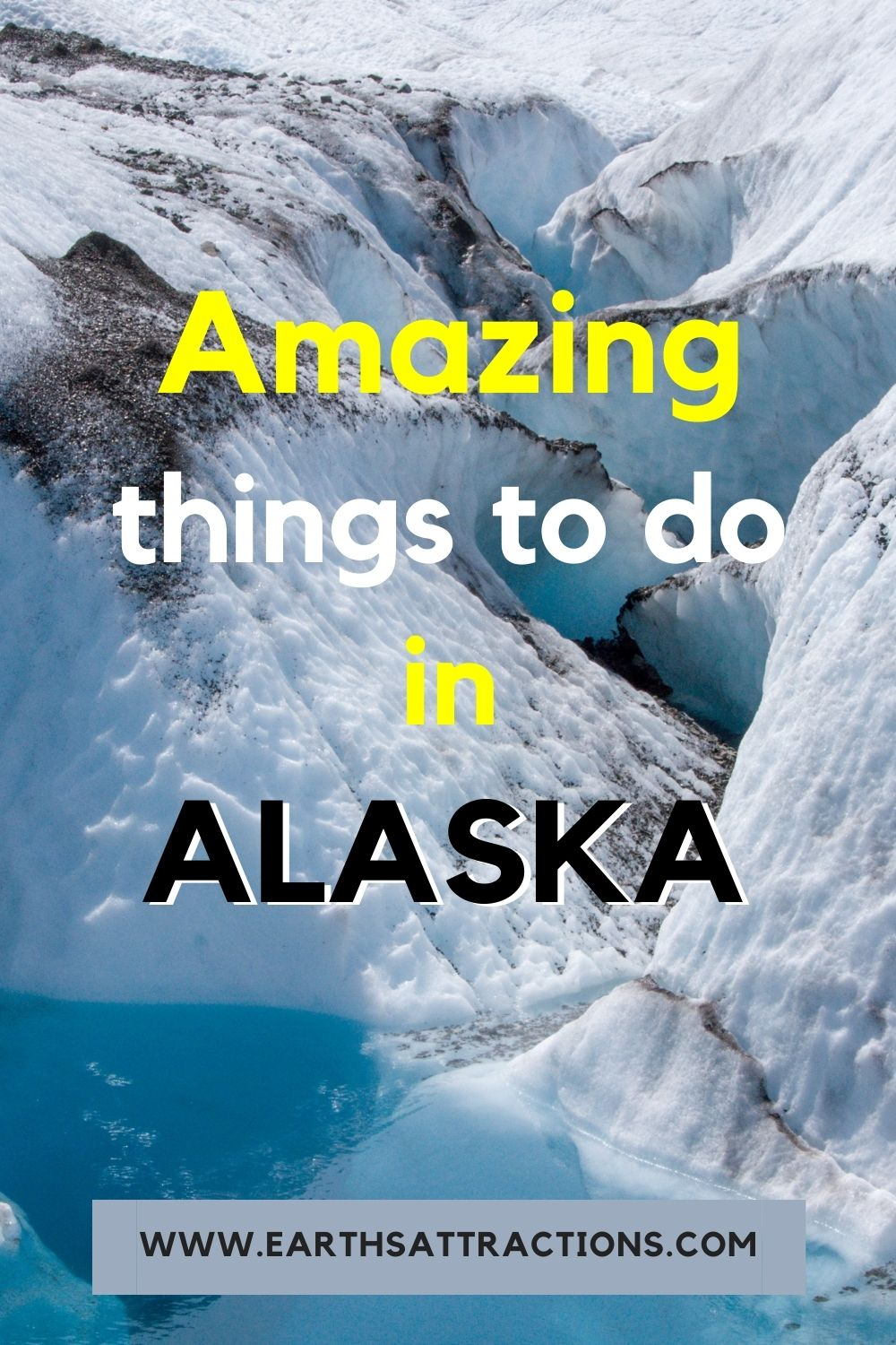Amazing things to do in Alaska USA. Discover the best Alaskan adventures to include on your Alaska bucketlist! #alaska #adventure #usa #usartavel #earthsattractions #thingstodo #alaskathingstodo #glacier #glaciers