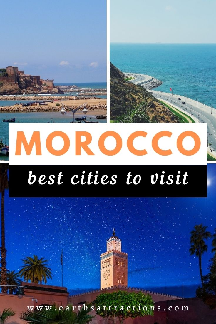 The best cities to visit in Morocco. Read this article and discover the best places to see in Morocco. Famous Morocco destinations included - these are indeed the top travel destinations in Morocco. #morocco #africa #traveldestinations #earthsattractions #traveltips #moroccotravel