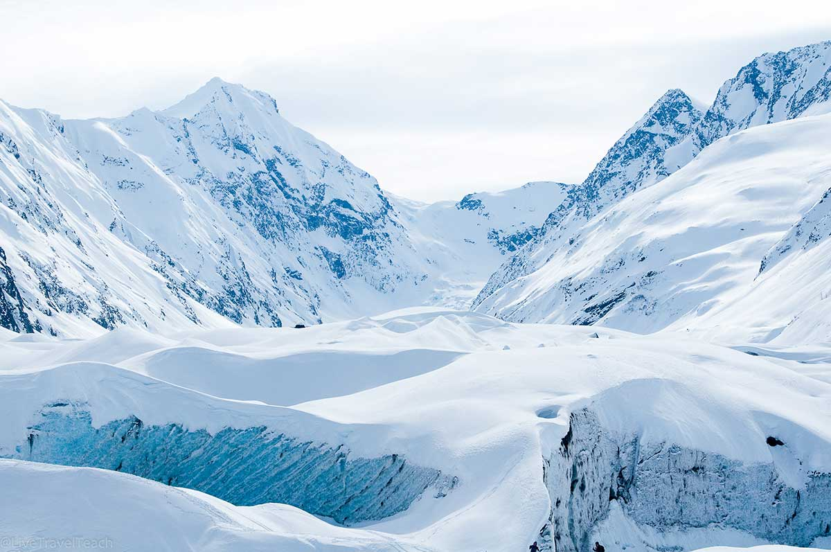 Skookum Glacier is one of the most beautiful glaciers in Alaska. These are the best adventures in Alaska