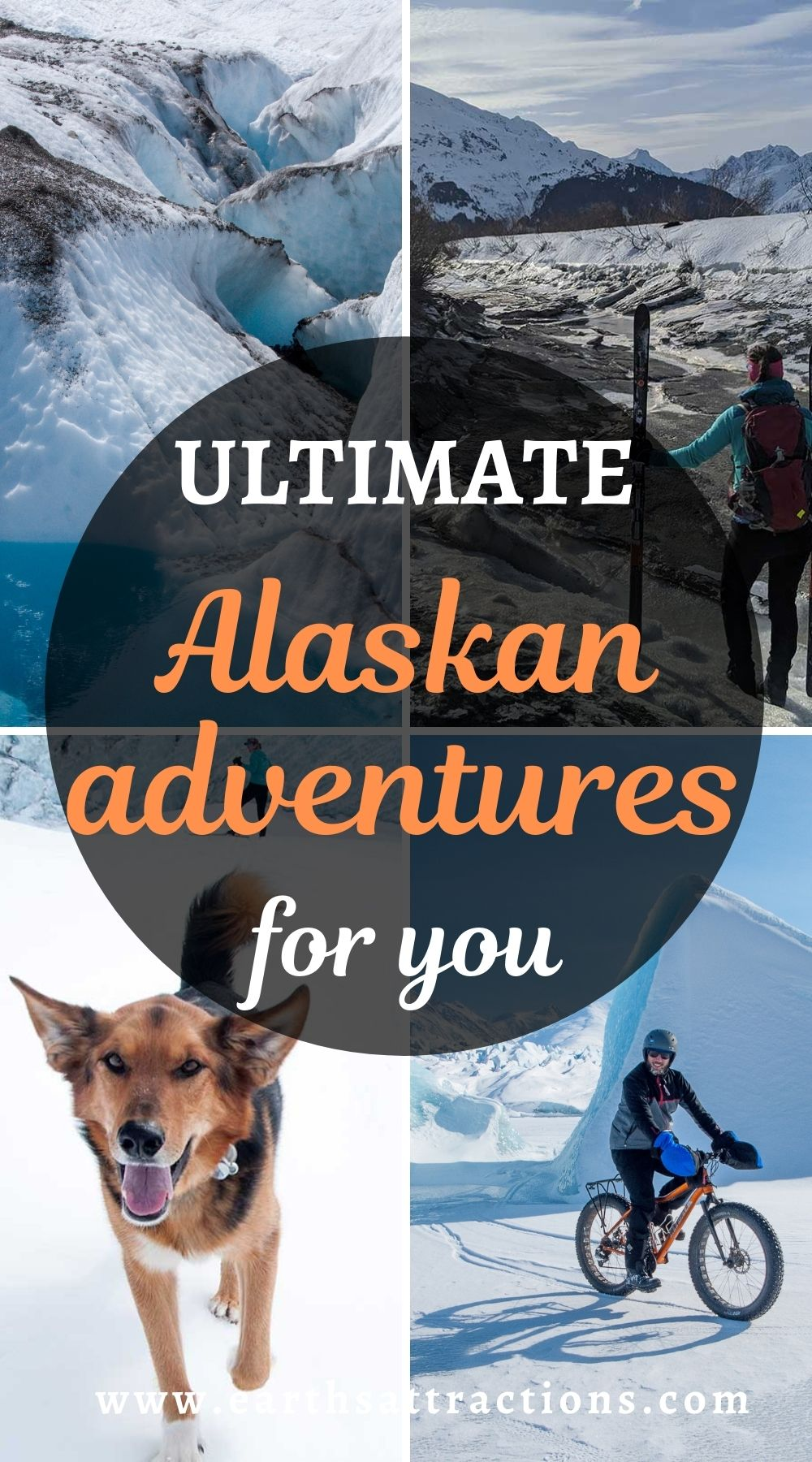 The ultimate Alaskan adventures for you! Discover the best Alaskan activities and the top glaciers in Alaska from this article. Read it now and save this pin for later. #alaska #adventure #usa #usartavel #earthsattractions #thingstodo #alaskathingstodo #glacier #glaciers