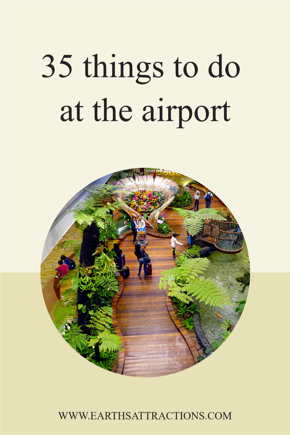 35 things to at the airport. Wondering what to do before boarding your plane? Here are the best things to do before your flight! #travel #airport #airportactivities #airportthingstodo #traveltips #earthsattractions