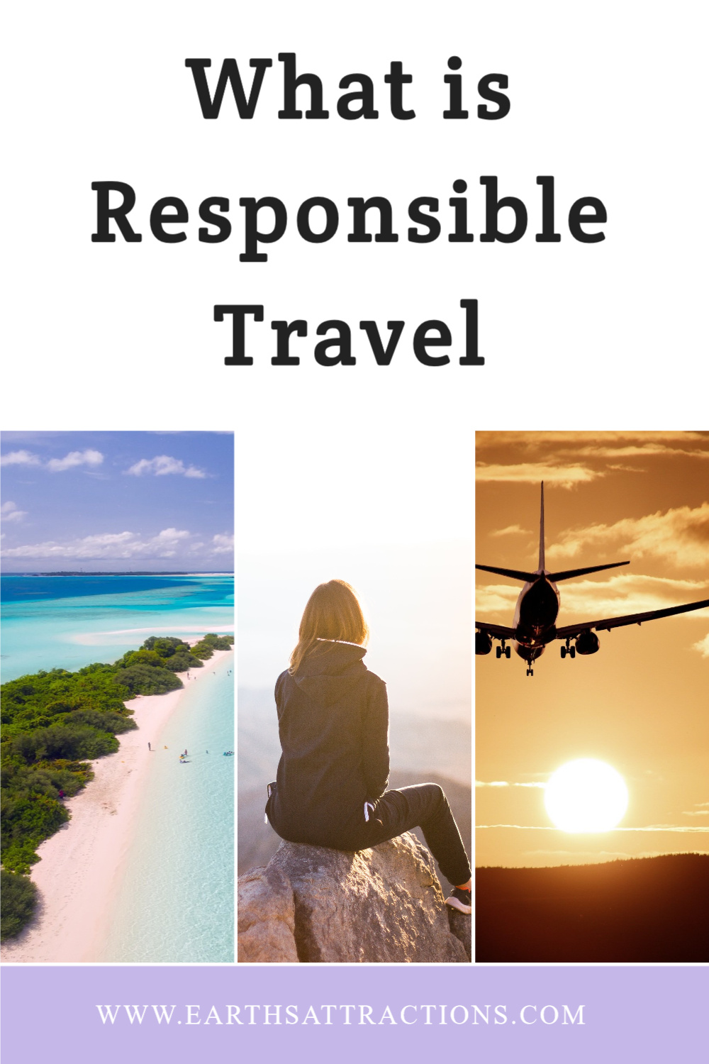 What is responsible travel and how to be a responsible traveler. Discover 15 things to avoid while traveling so that you can be a respectful traveler! How to travel responsibly. #travel #traveltips #earthsattractions #responsibletravel #responsibletraveler #responsibletraveling