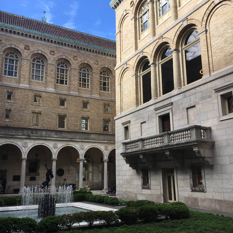 The Boston Public Library is one of the best off the beaten path things to do in Boston, USA. Discover more offbeat attractions in Boston as well as the famous Boston points of interest from this local's guide to Boston