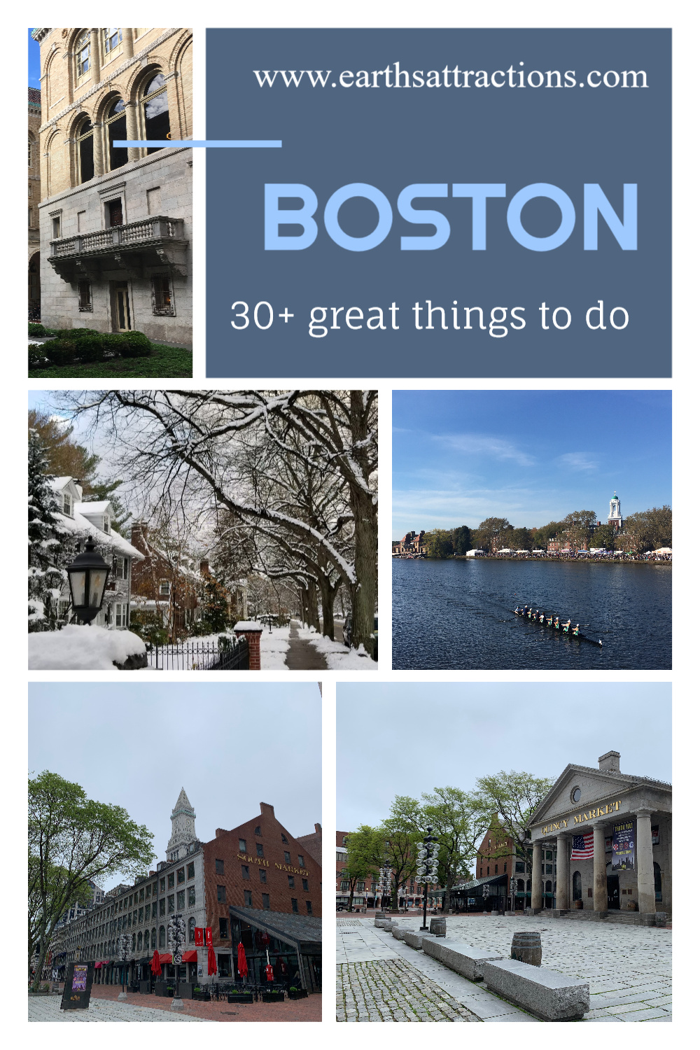 30 Great things to do in Boston USA. This boston travel blog covers everything you need to know about Boston: from the Boston weather to Boston restaurants to Boston landmarks, Boston hotels, and beyond! Read the article now! #boston #bostonguide #usatravel #bostonthingstodo #earthsattractions #traveldestinations #northamerica