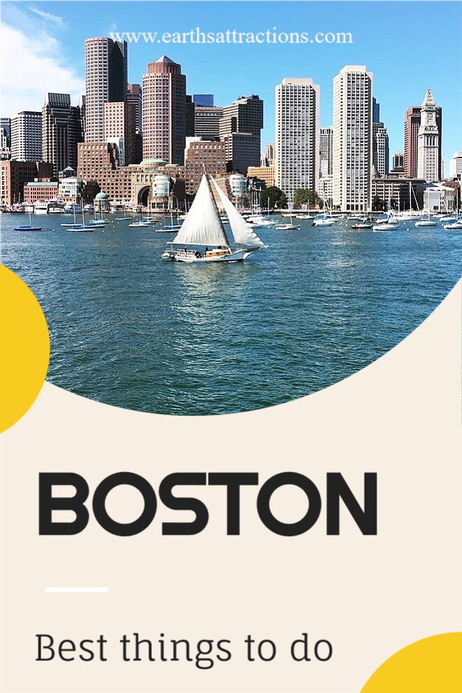 Boston things to do. Read this Boston guide to discover the top attractions in Boston, off the beaten path things to do in Boston, 25 great restaurants in Boston, useful Boston travel tips, and Boston hotels. Create your Boston bucket list now! #boston #bostonguide #usatravel #bostonthingstodo #earthsattractions #traveldestinations #northamerica