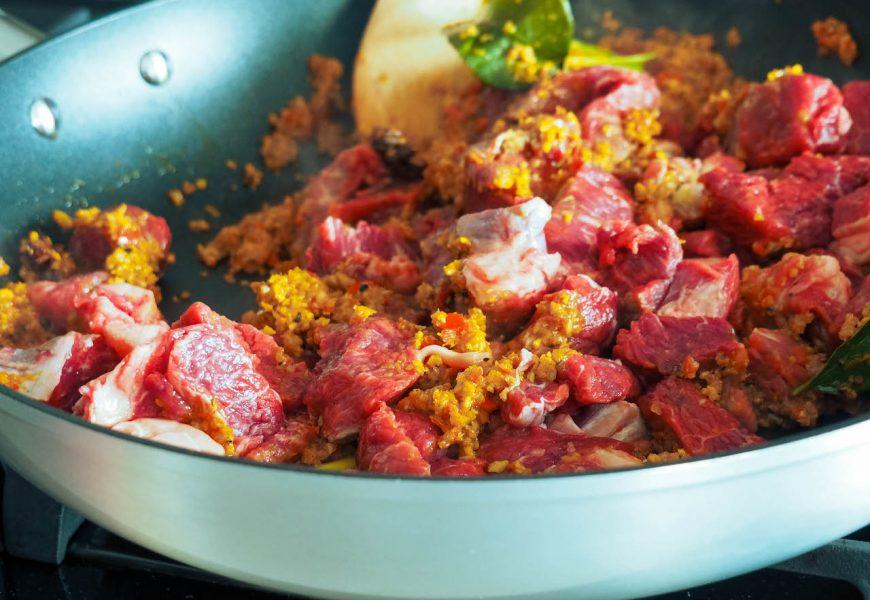 Traditional Indonesian Beef Rendang Recipe