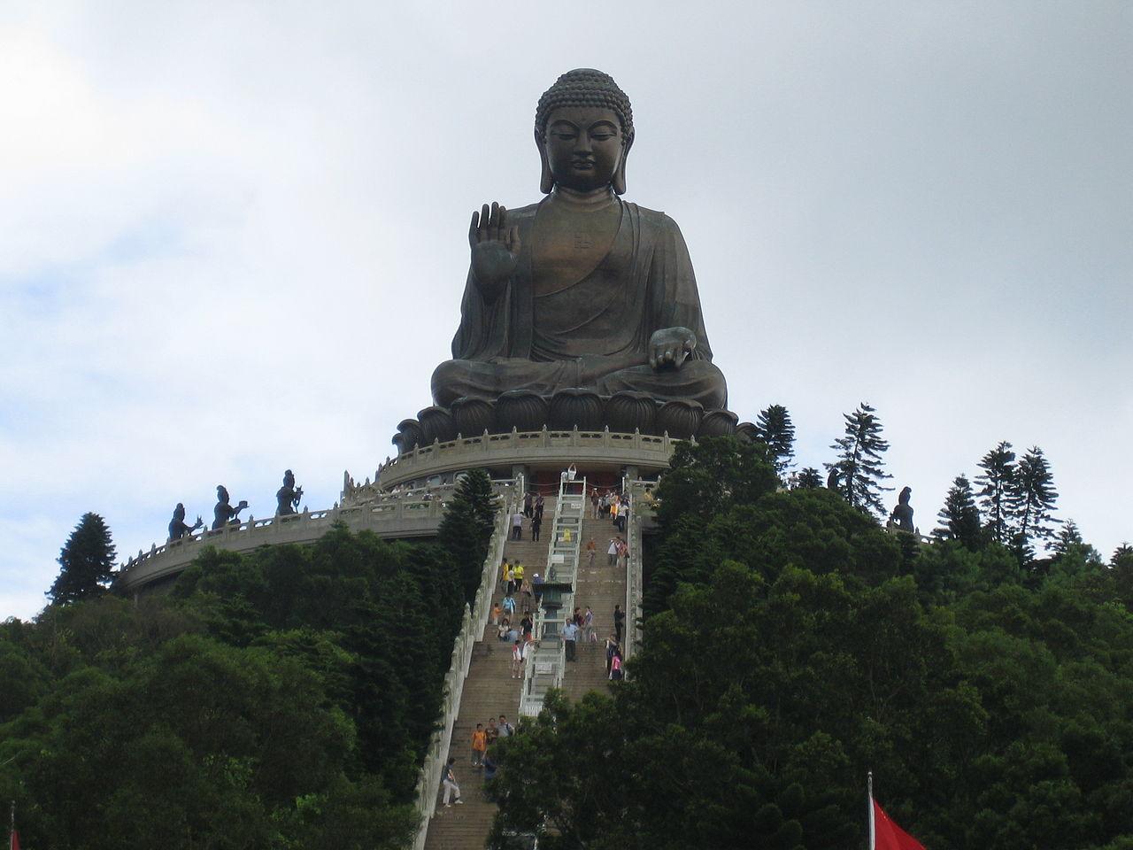 Big Buddha statue - Lantau Island, Hong Kong