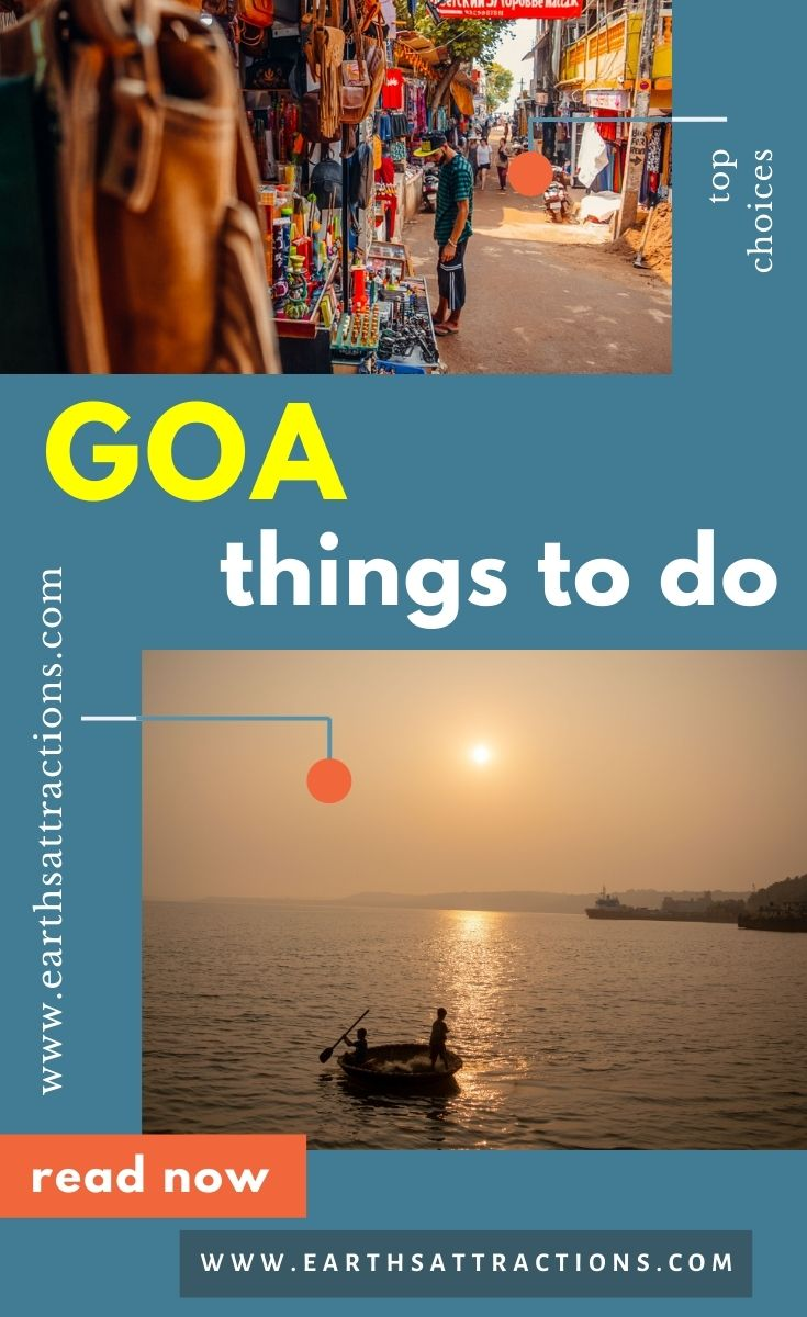 The best things to do in Goa, India. Discover 15+ places to visit in goa, cool Goa bars and restaurants, where to stay in Goa, the best time to visit Goa, and useful tips for visiting Goa. #goa #goaindia #indiatravel #india #earthsattractions #traveldestinations #asia #asiatravel #goathingstodo #goatips #goarestaurants #goahotels