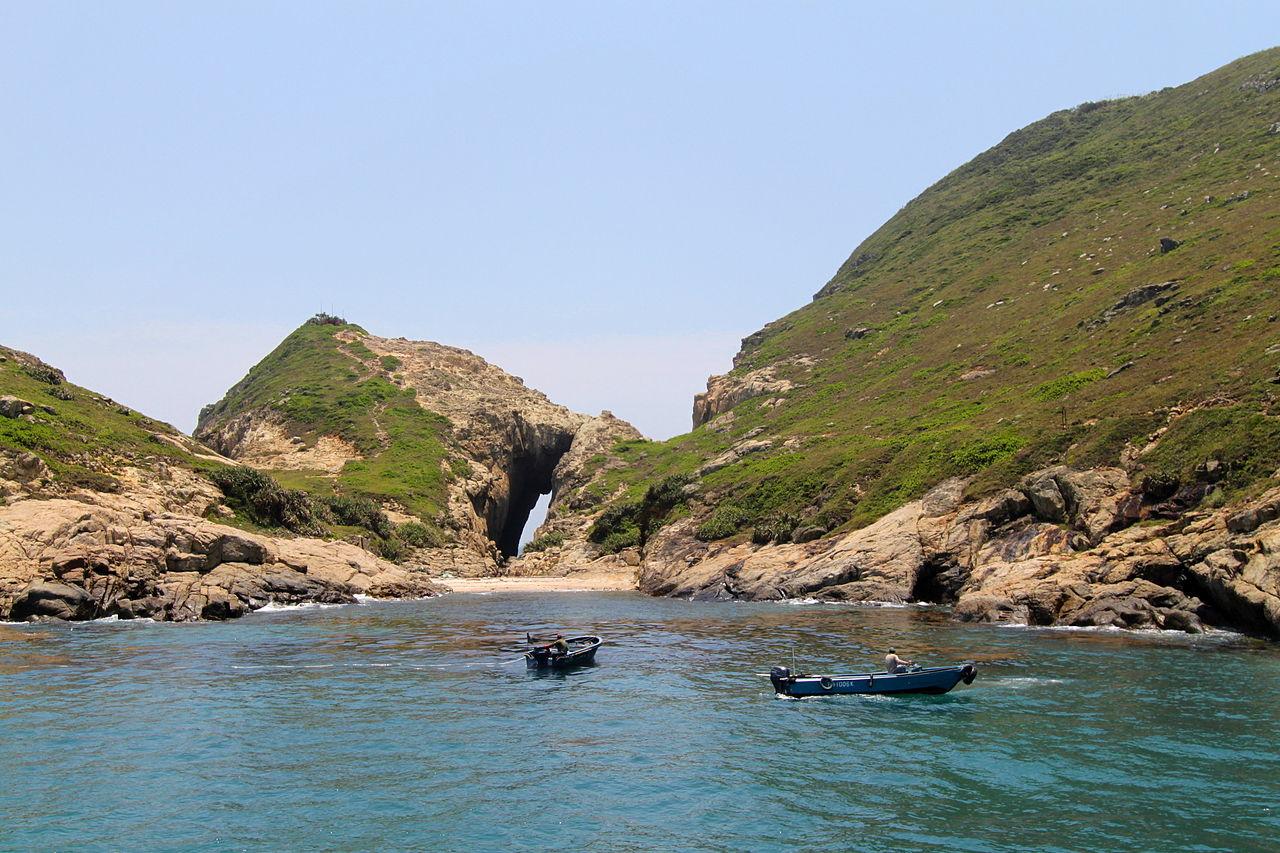 South Ninepin Island - Global Geopark in Hong Kong