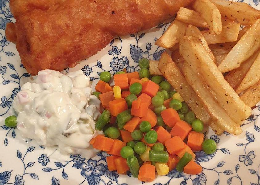 Beer-battered fish and chips recipe: Classic British food