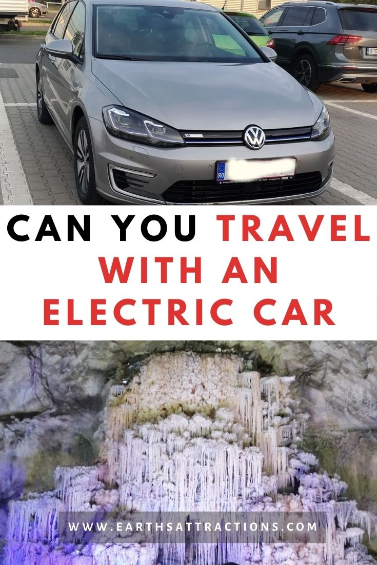 Can you travel in an electric car? This article includes the best tips for EV traveling. Discover how to take a road trip with an electric vehicle. #evtravel #ev #electriccar #egolf #evtravel #evdriving #earthsattractions