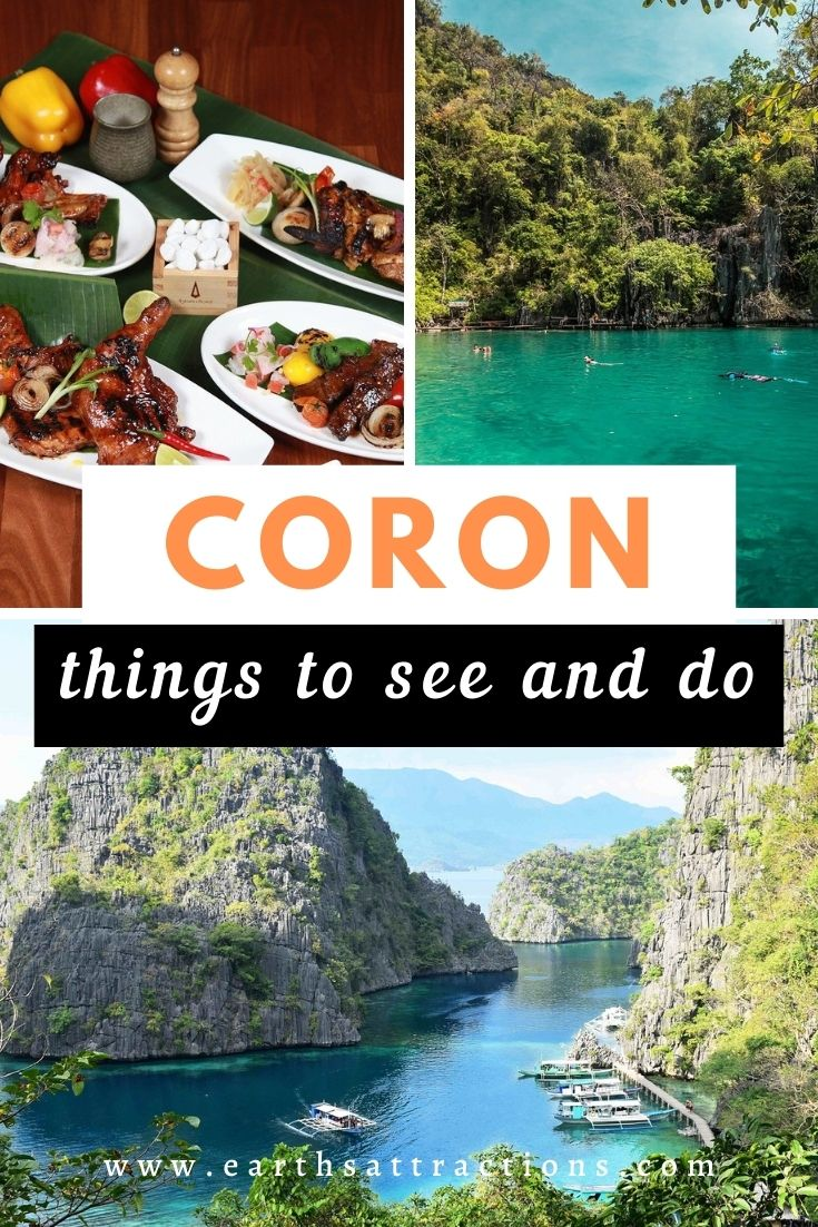 Top things to do in Coron, Palawan, Philippines. Discover the unmissable Coron activities to include on your Coron itinerary! Best things to see and do in Coron Philippines! #coron #philippines #asia #travelguide #earthsattractions
