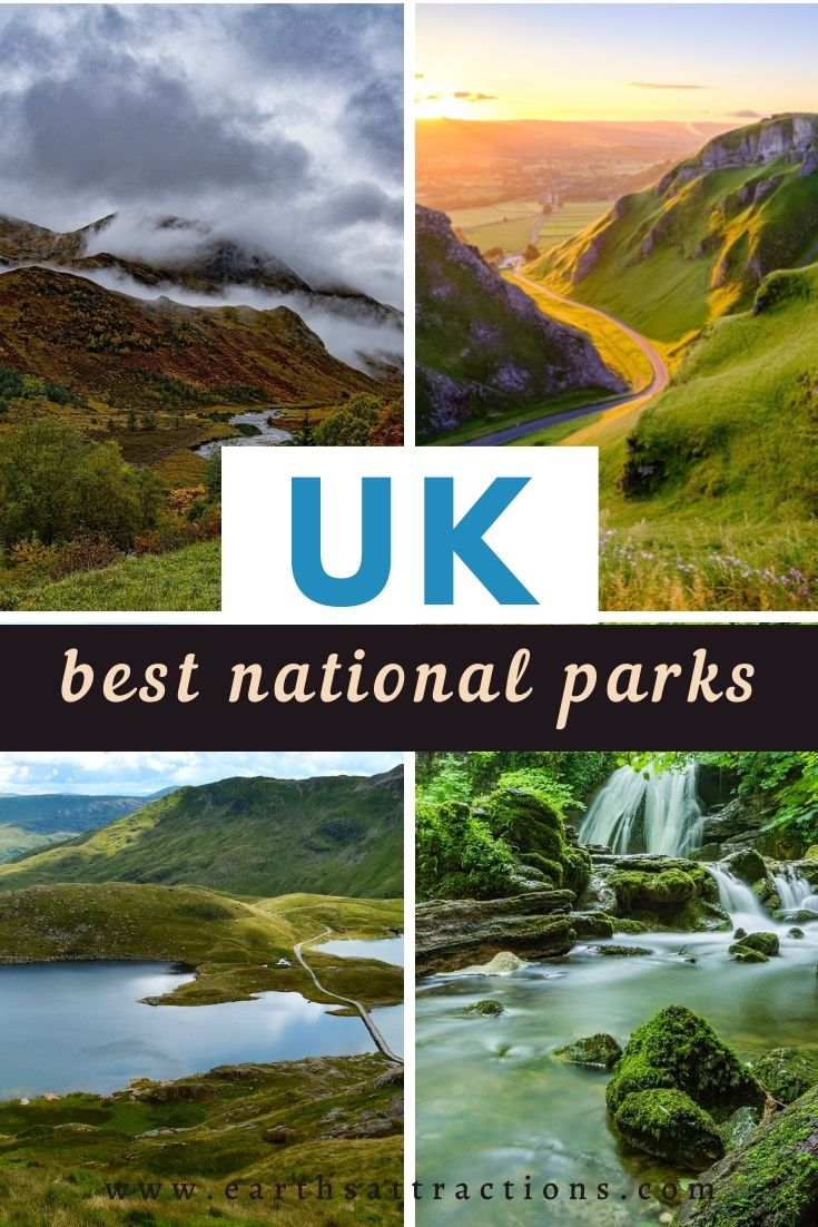 Unmissable National Parks in the UK. Planning a trip to the UK and fancy some outdoor adventure? Then add these best national parks in the UK to your UK itinerary and you won't regret it! #uk #uknationalparks #ukitinerary #uktravel #europe #nationalparks #earthsattractions