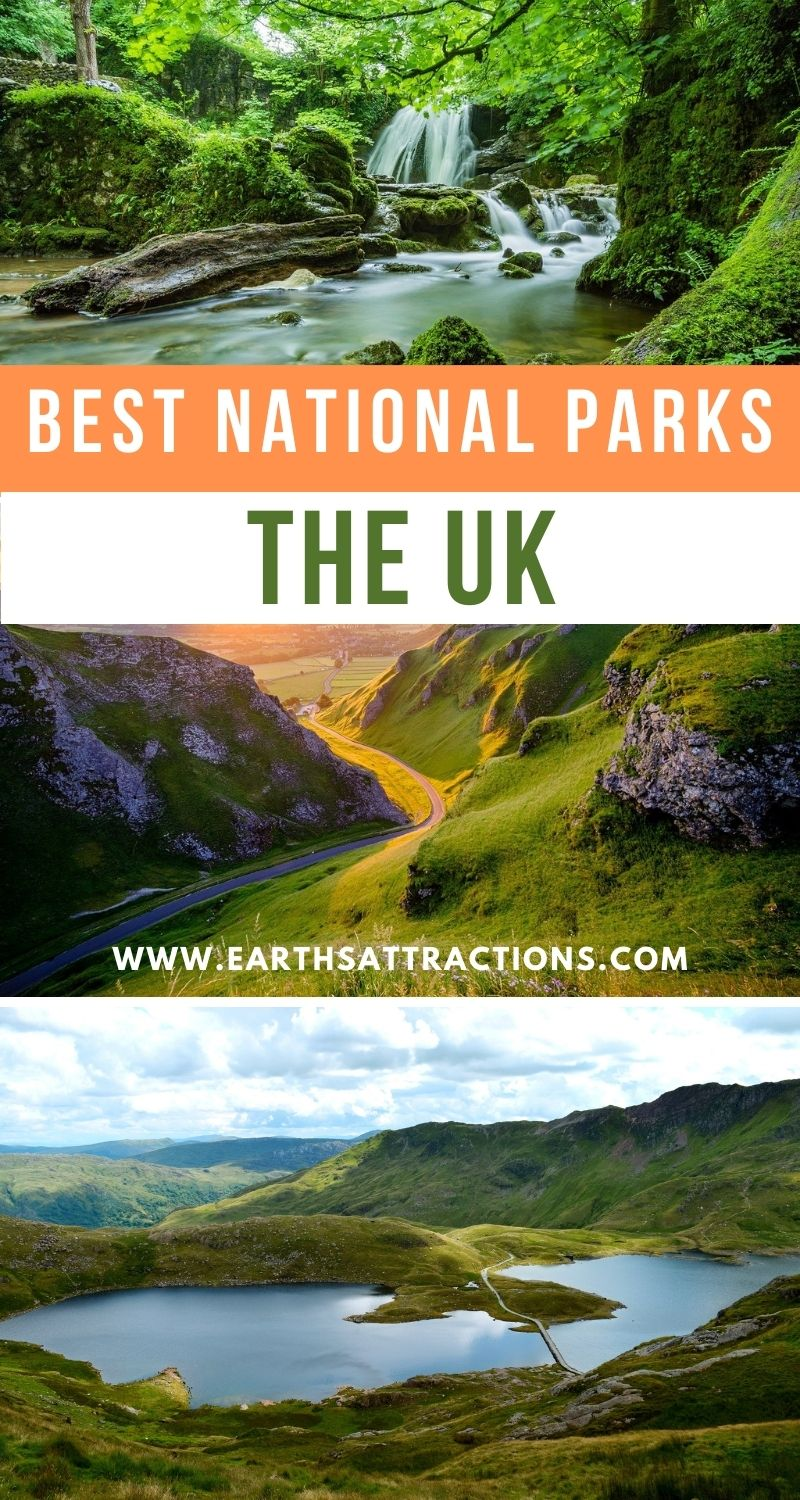 The Best National Parks in The UK. Discover the unmissable UK national parks to include on your UK itinerary. #uk #uknationalparks #ukitinerary #uktravel #europe #nationalparks #earthsattractions