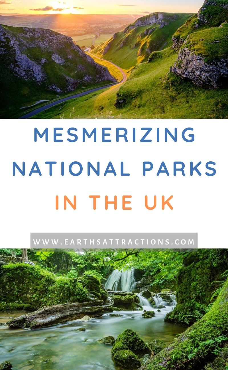 Mesmerizing National Parks in the UK. From the Peak District National Park to Snowdonia, from Cairngorms to The Yorkshire Dales, these are the best UK National Parks. #uk #uknationalparks #ukitinerary #uktravel #europe #nationalparks #earthsattractions