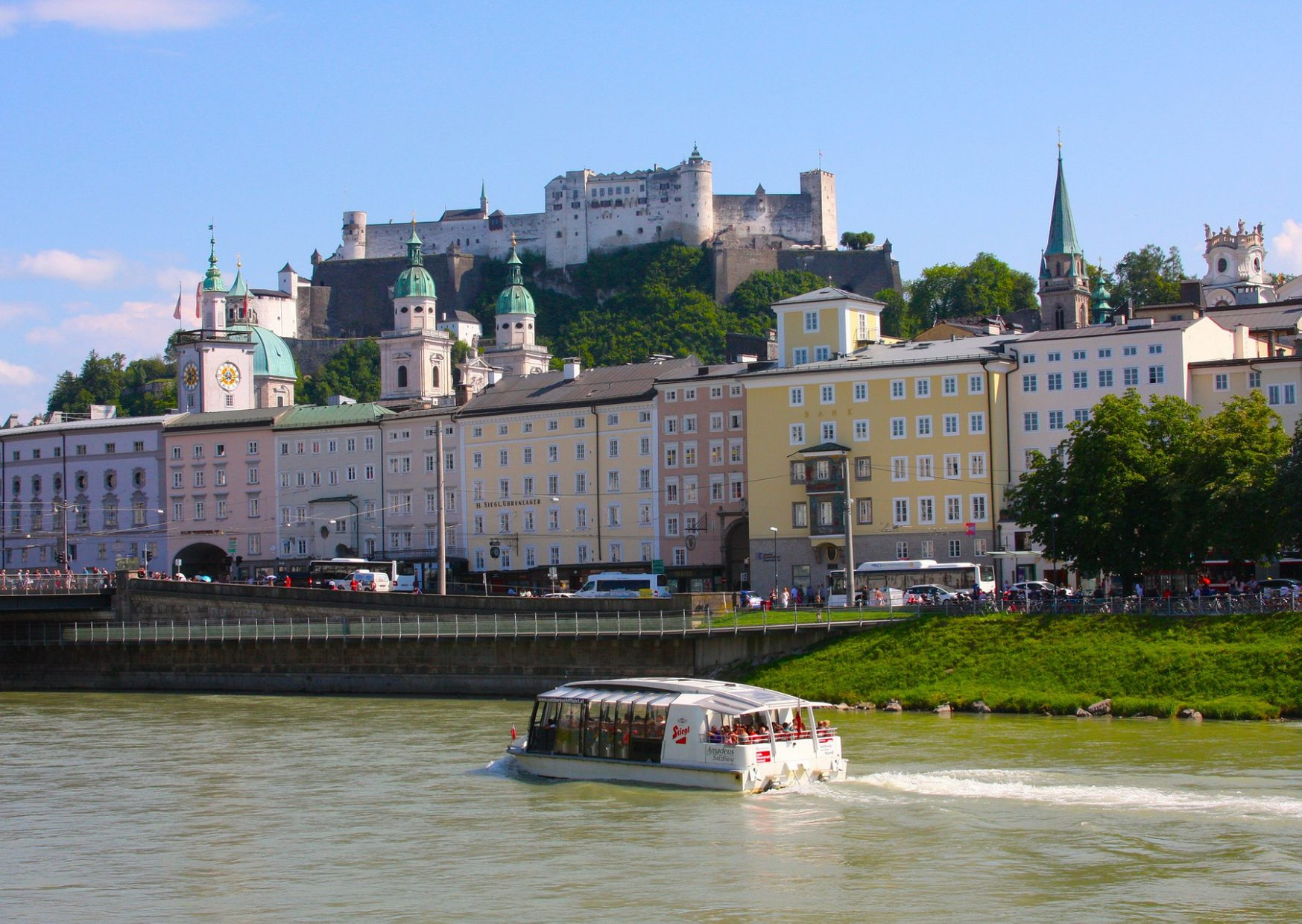 Amadeus Cruise on the River Salzach - photo by Voices of Travel