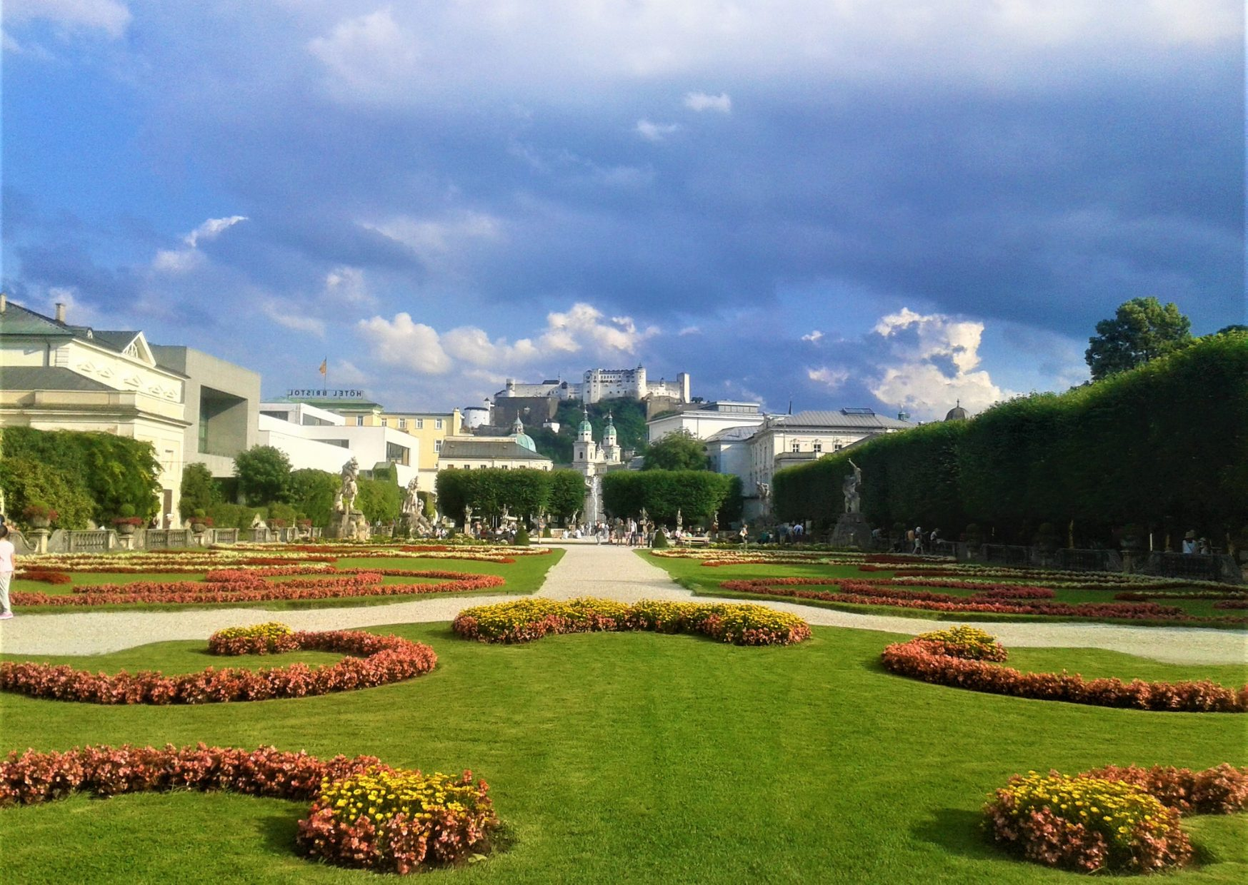 Mirabell Garden is one of the best sights in Salzburg - photo by Voices of Travel