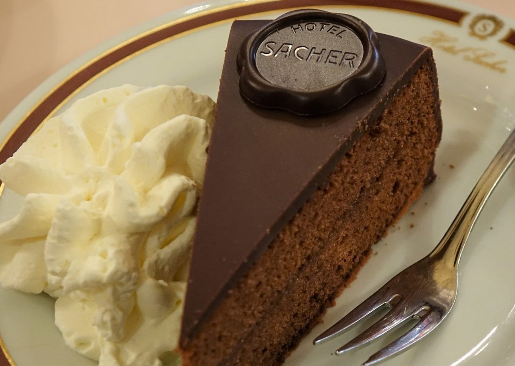 HOTEL SACHER – traditional Austrian chocolate cake - photo by Voices of Travel