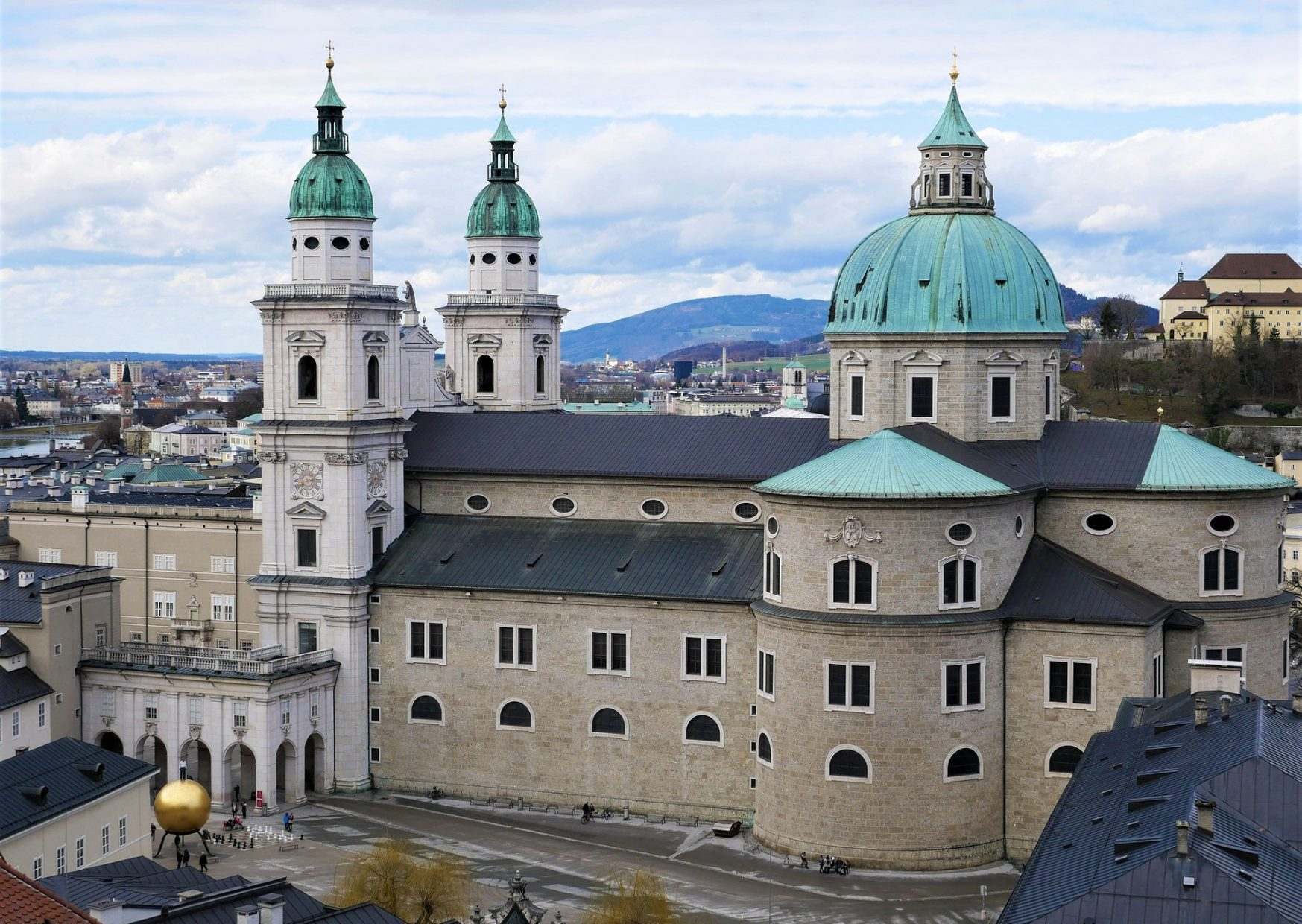Salzburger Dom (Salzburg Cathedral) is one of the best things to see in Salzburg- photo by Voices of Travel