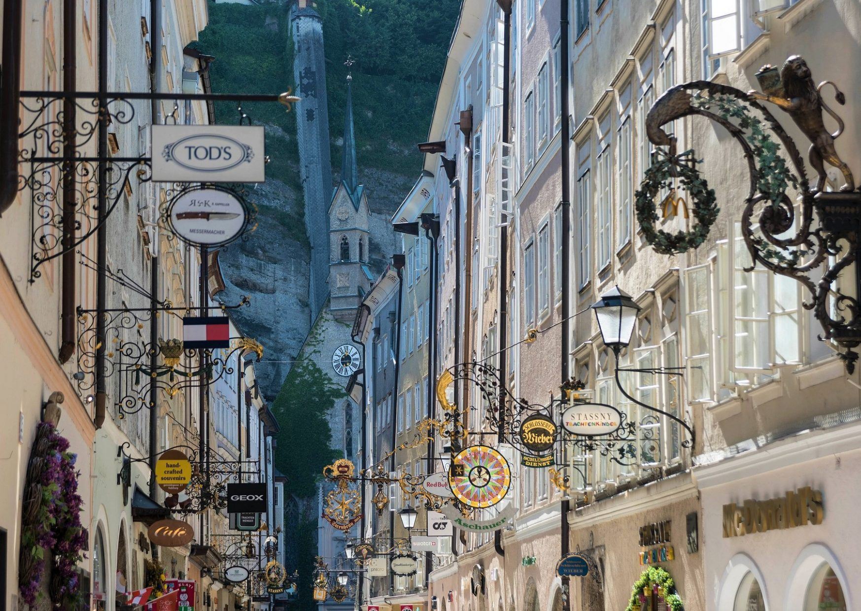 Salzburg Old Town – Getreidegasse - photo by Voices of Travel