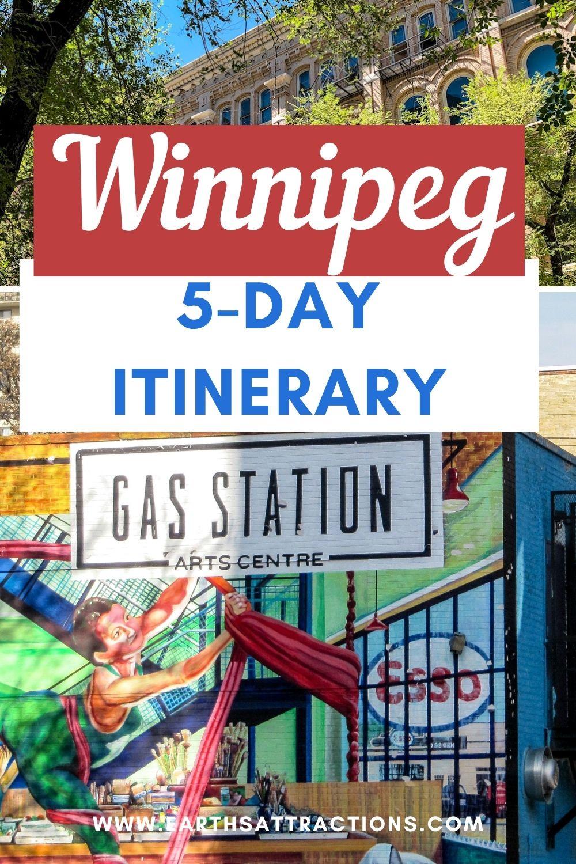 Winnipeg 5-day itinerary. Use this local's Winnipeg itinerary to discover what to do in Winnipeg in 5 days. Visit Winnipeg, Manitoba, Canada using this itinerary. #winnipeg #manitoba #canada #northamerica #winnipegitinerary