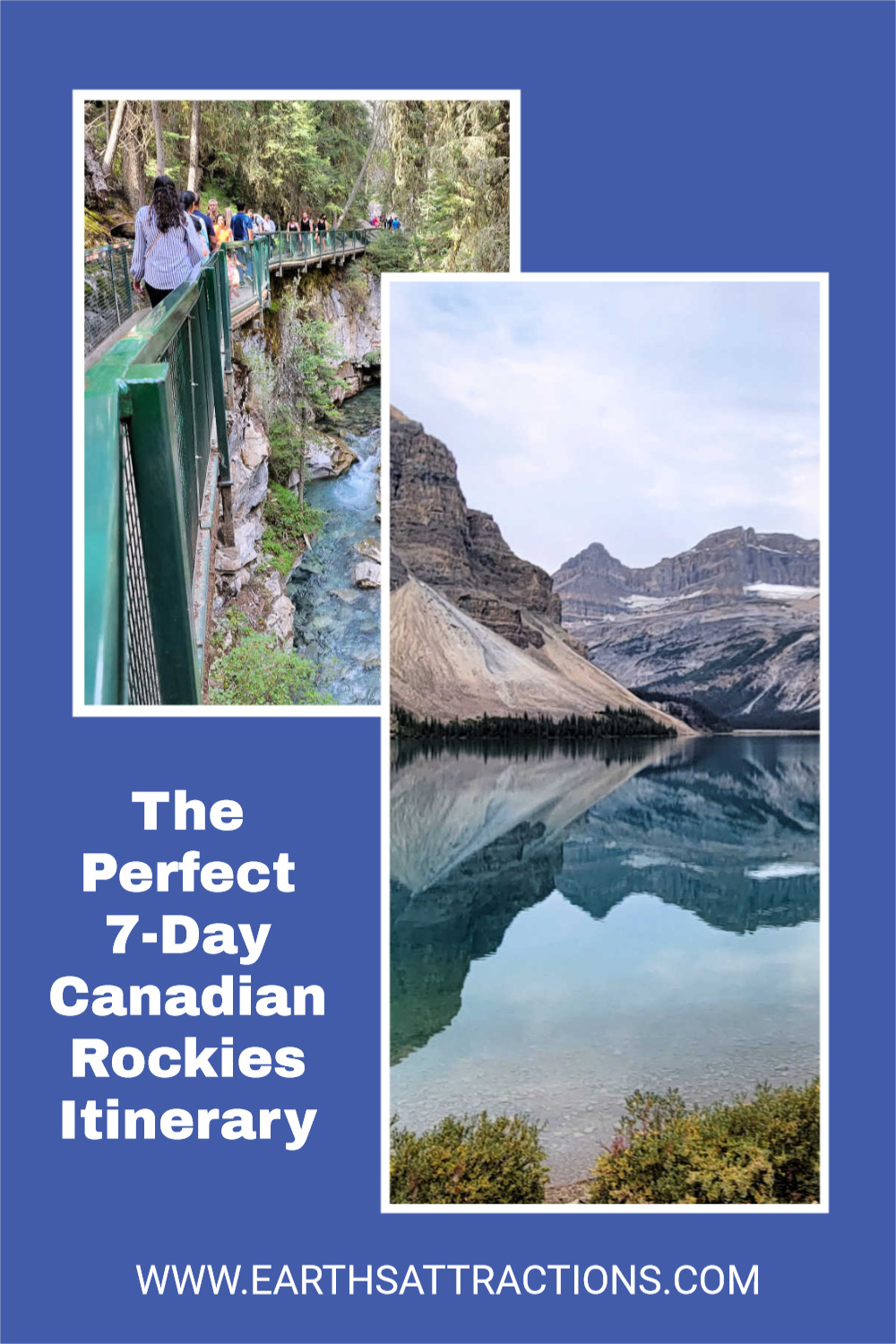 Planning a trip to the Canadian Rockies? Discover what to see and do in the Canadian Rockies in 7 days. Use this local's itinerary for 7 days in the Canadian Rockies. #canada #canadianrockies #rockies #outdoor #jasper #banff #northamerica #northamericatravel #canadatravel #traveldestinations