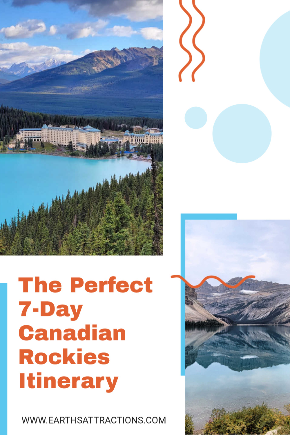 The best Canadian Rockies itinerary. Find out what to do in the Canadian Rockies in 7 days from this local's Canadian Rockies itinerary. Make the most of your Canada trip and spend some time outdoor. #canada #canadianrockies #rockies #outdoor #jasper #banff #northamerica #northamericatravel #canadatravel #traveldestinations