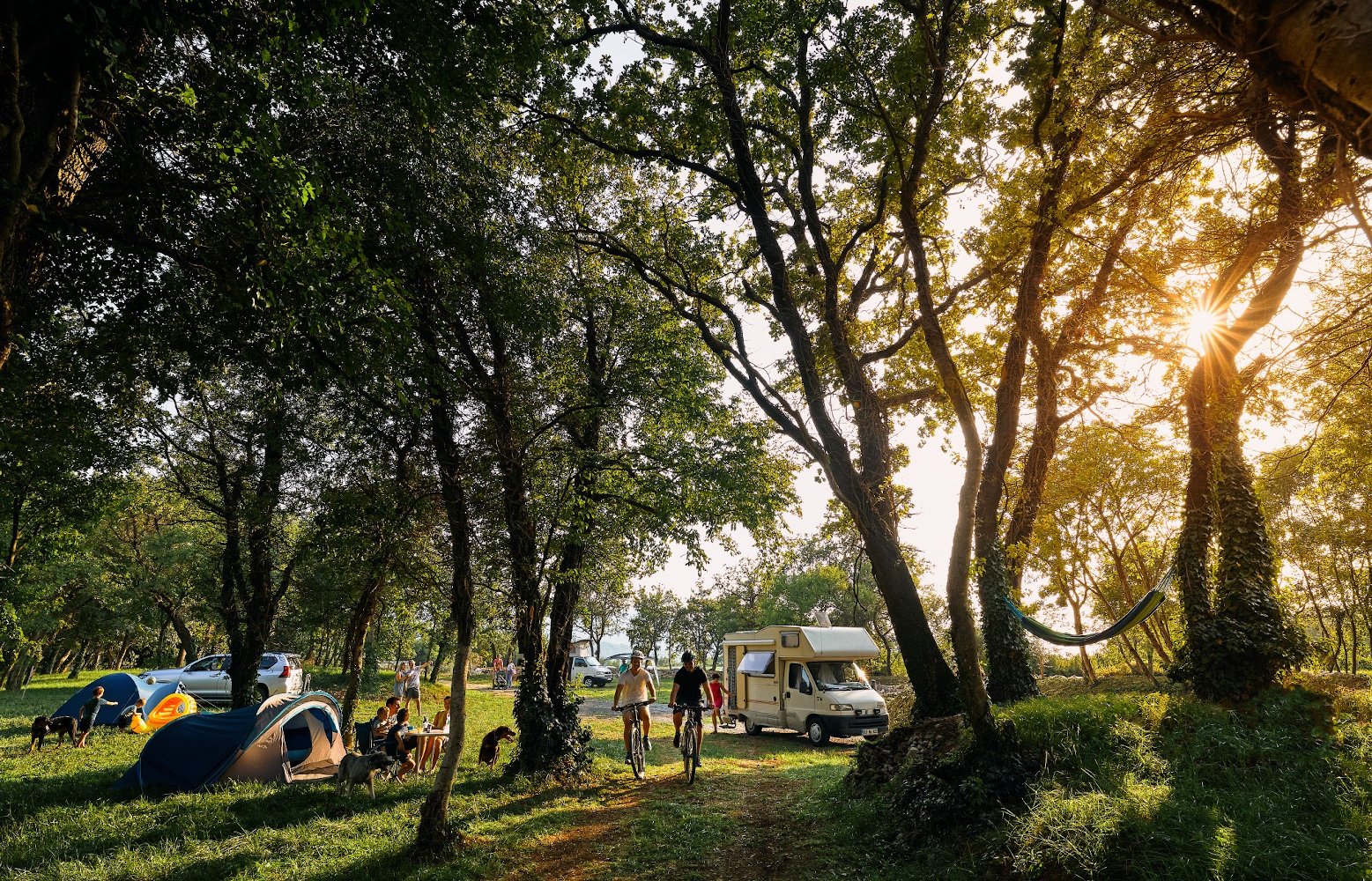 Camp David is one of the best camping spots in Slovenia