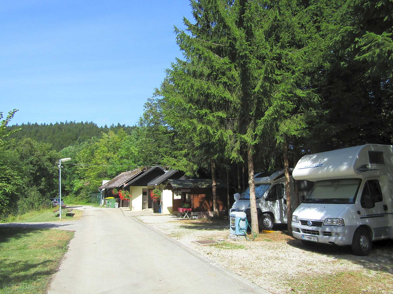 Dolenjske Toplice camping is one of the best Slovenian campsites