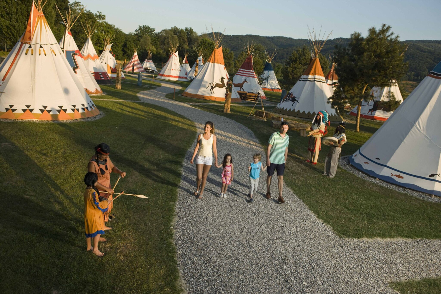 Camp Terme Čatež is one of the top Slovenian camping spots