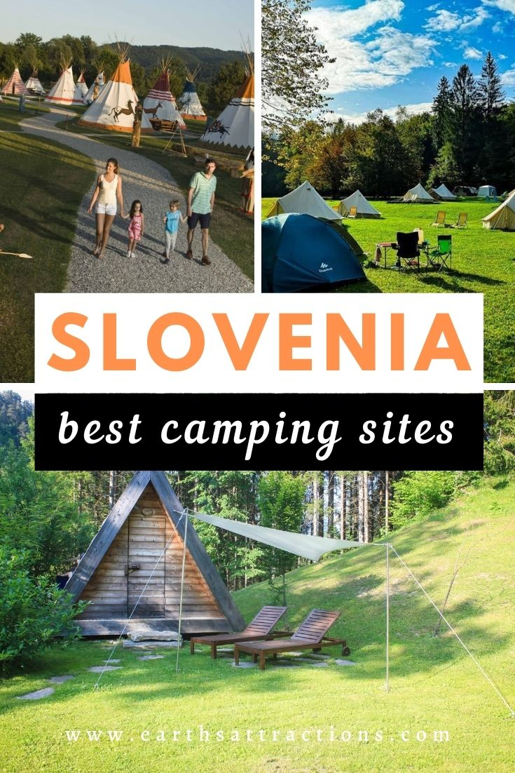 Slovenia: best camping sites. Discover the best camp spots in Slovenia. #slovenia #camping #sloveniacamping #europe