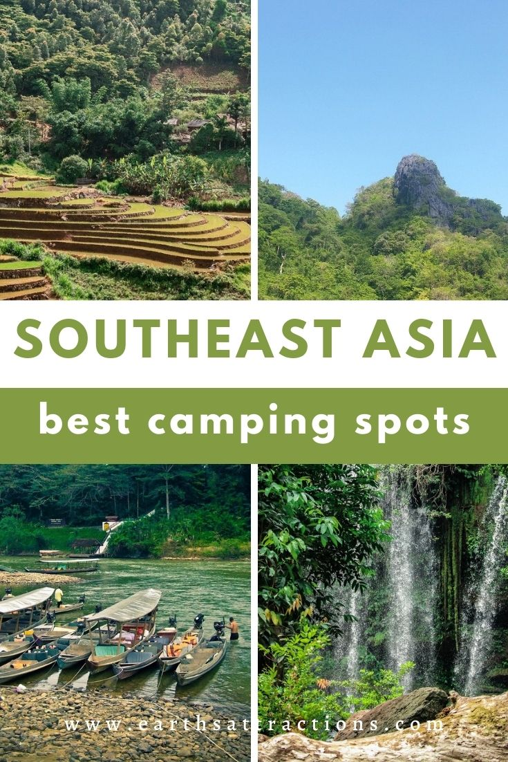 Wondering where to go camping in Southeast Asia? Discover the best camping places in Southeast Asia from this article. #southeastasia #asiatravel #camping #southeastasiacamping